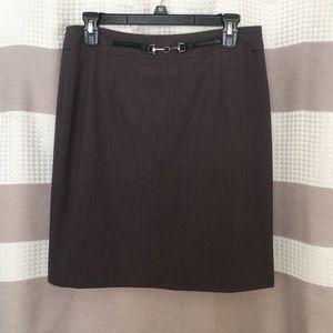 Grey Work Skirt